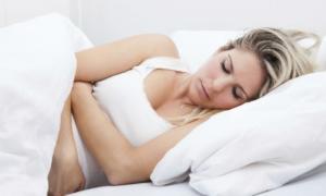 Sueño durante el Tercer Trimestre del Embarazo