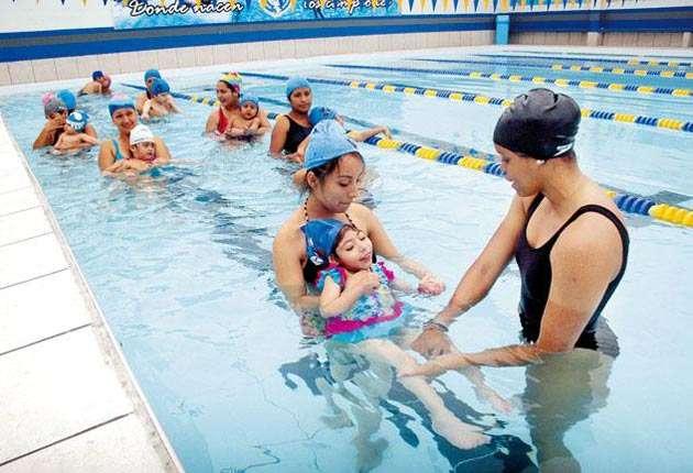 Ventajas de usar la hidroterapia para bebés